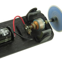 Sonic Micro Visible DC Motor