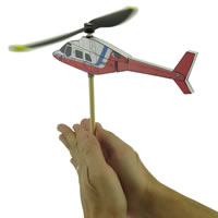 Foam Board Helicopter